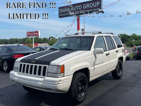 1996 Jeep Grand Cherokee for sale at Divan Auto Group in Feasterville Trevose PA