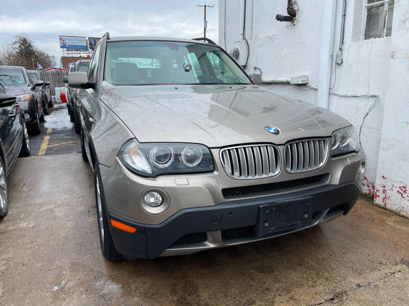 2008 BMW X3 for sale at GRAND USED CARS  INC in Little Ferry NJ