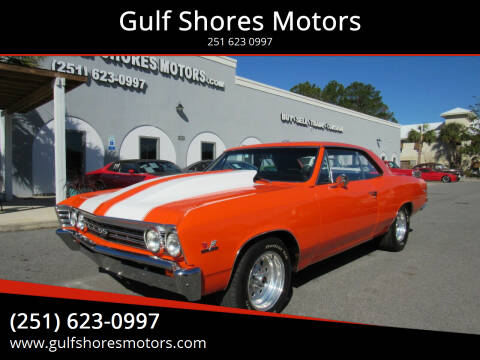 1967 Chevrolet Chevelle for sale at Gulf Shores Motors in Gulf Shores AL