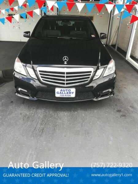 2011 Mercedes-Benz E-Class for sale at Auto Gallery in Hampton VA