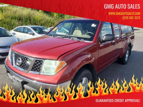 2007 Nissan Frontier for sale at GMG AUTO SALES in Scranton PA