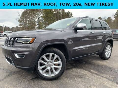 2017 Jeep Grand Cherokee for sale at Drivers Choice Auto & Truck in Fife Lake MI