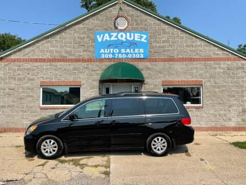 2010 Honda Odyssey for sale at VAZQUEZ AUTO SALES in Bloomington IL