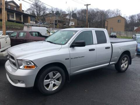 2012 RAM Ram Pickup 1500 for sale at Fellini Auto Sales & Service LLC in Pittsburgh PA