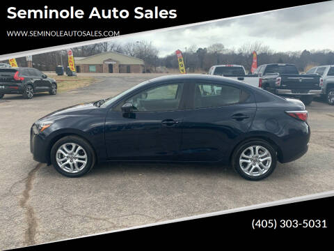 2016 Scion iA for sale at Seminole Auto Sales in Seminole OK