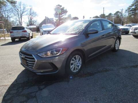 2018 Hyundai Elantra for sale at Atlantic Auto Sales in Chesapeake VA