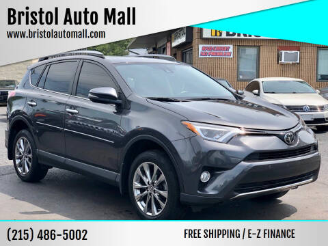 2017 Toyota RAV4 for sale at Bristol Auto Mall in Levittown PA