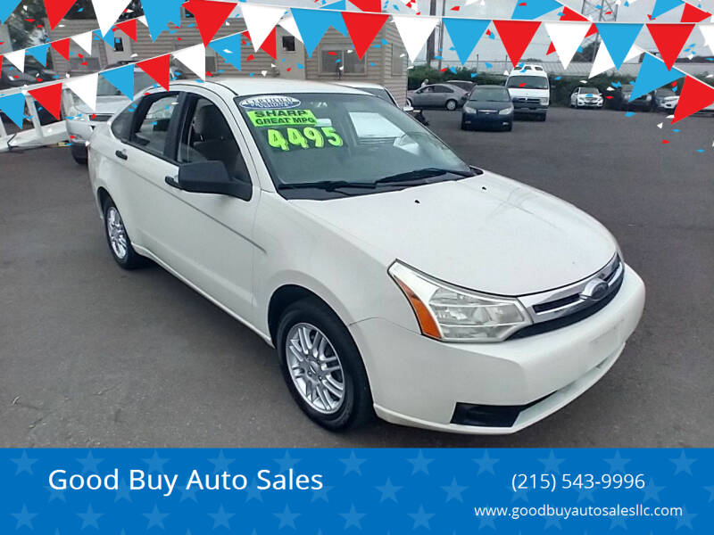 2009 Ford Focus for sale at Good Buy Auto Sales in Philadelphia PA