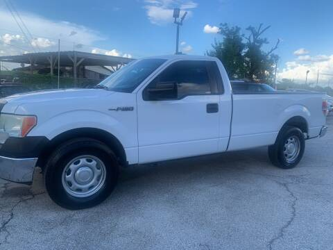 2014 Ford F-150 for sale at FAIR DEAL AUTO SALES INC in Houston TX