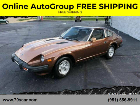 1979 Datsun 280ZX for sale at Online AutoGroup FREE SHIPPING in Riverside CA