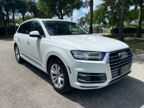 2019 Audi Q7 for sale at DELRAY AUTO MALL in Delray Beach FL