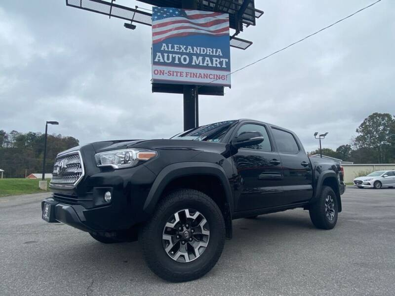 2017 Toyota Tacoma for sale at Alexandria Auto Mart LLC in Alexandria PA