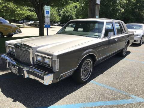 1988 Lincoln Town Car for sale at Black Tie Classics in Stratford NJ