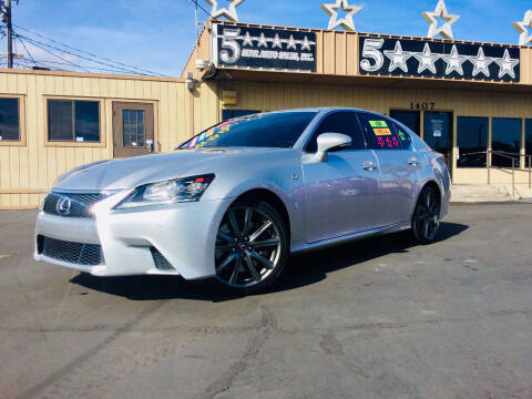 2013 Lexus GS 350 for sale at 5 Star Auto Sales in Modesto CA