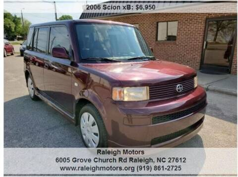 2006 Scion xB for sale at Raleigh Motors in Raleigh NC
