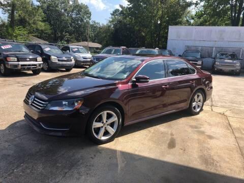 2013 Volkswagen Passat for sale at Baton Rouge Auto Sales in Baton Rouge LA