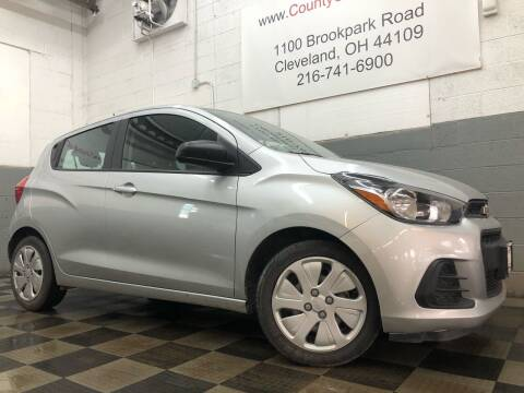 2017 Chevrolet Spark for sale at County Car Credit in Cleveland OH