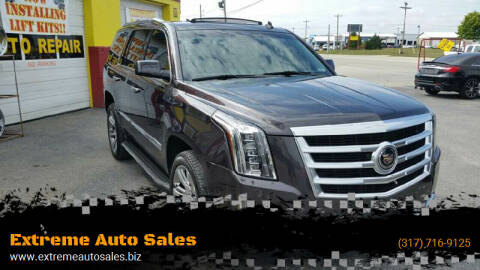 2015 Cadillac Escalade for sale at Extreme Auto Sales in Plainfield IN