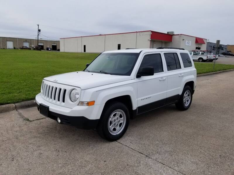 2014 Jeep Patriot for sale at Image Auto Sales in Dallas TX
