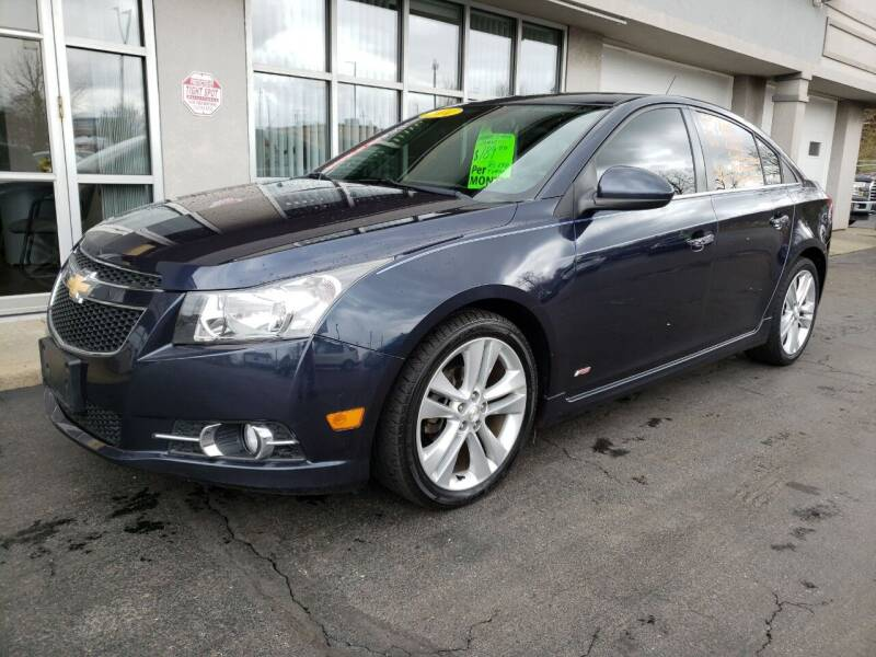 2014 Chevrolet Cruze for sale at STRUTHER'S AUTO MALL in Austintown OH