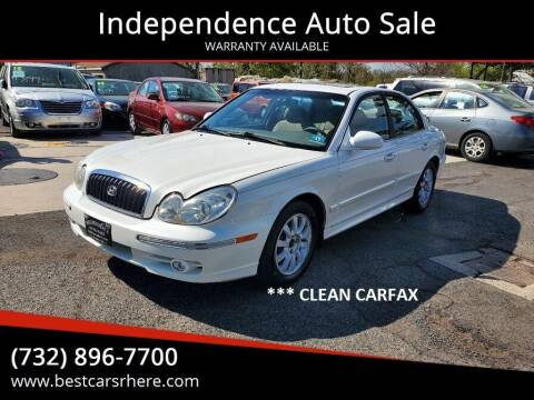 2004 Hyundai Sonata for sale at Independence Auto Sale in Bordentown NJ