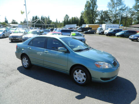 2007 Toyota Corolla for sale at J & R Motorsports in Lynnwood WA