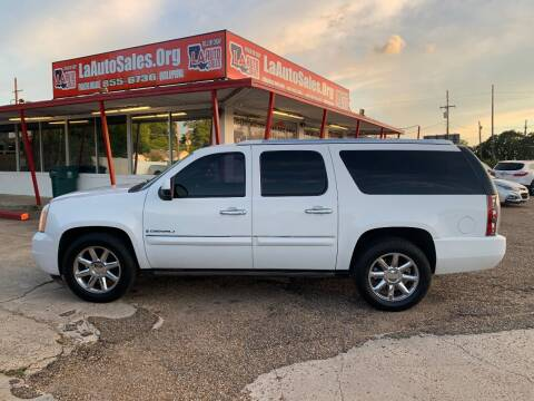 2008 GMC Yukon XL for sale at LA Auto Sales in Monroe LA