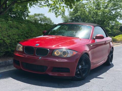 2008 BMW 1 Series for sale at William D Auto Sales in Norcross GA