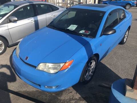 2005 Saturn Ion for sale at RACEN AUTO SALES LLC in Buckhannon WV