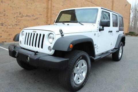 2015 Jeep Wrangler Unlimited for sale at Vantage Auto Group - Vantage Auto Wholesale in Lodi NJ