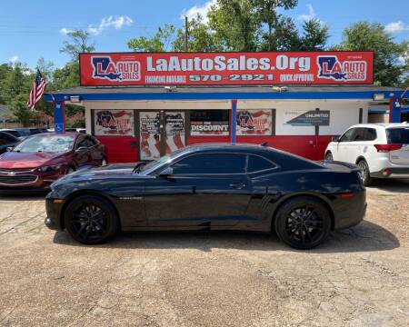 2015 Chevrolet Camaro for sale at LA Auto Sales in Monroe LA