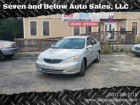 2003 Toyota Camry for sale at Seven and Below Auto Sales, LLC in Rockville MD
