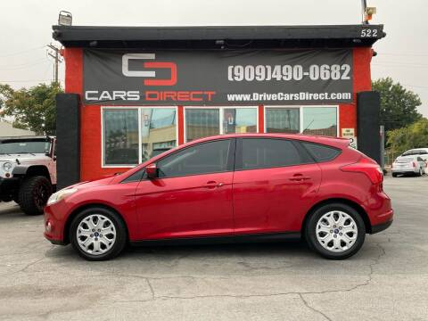 2012 Ford Focus for sale at Cars Direct in Ontario CA