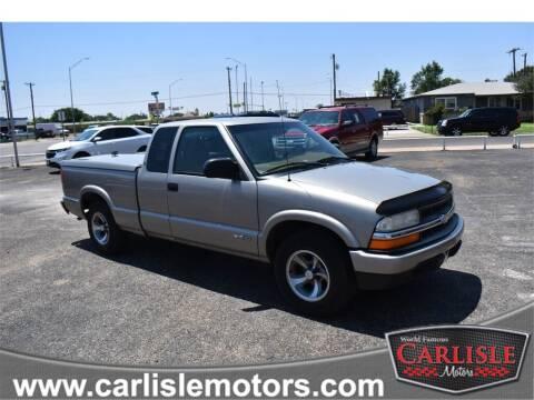 2002 Chevrolet S-10 for sale at Carlisle Motors in Lubbock TX