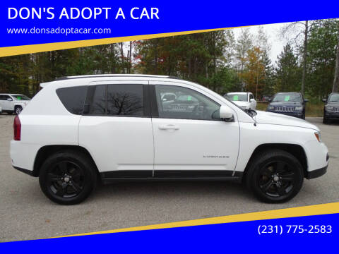 2014 Jeep Compass for sale at DON'S ADOPT A CAR in Cadillac MI
