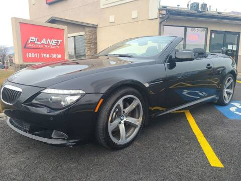 2008 BMW 6 Series for sale at PLANET AUTO SALES in Lindon UT