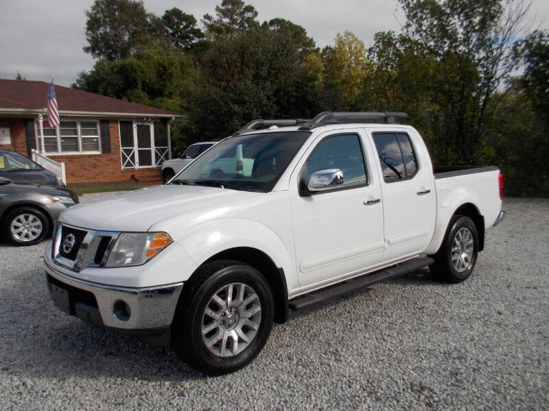 2011 Nissan Frontier for sale at Carolina Auto Connection & Motorsports in Spartanburg SC