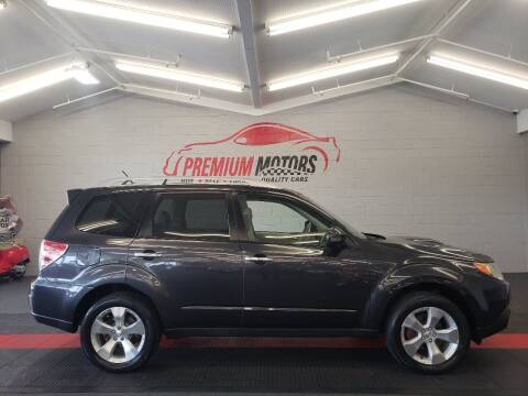 2011 Subaru Forester for sale at Premium Motors in Villa Park IL