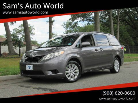 2011 Toyota Sienna for sale at Sam's Auto World in Roselle NJ