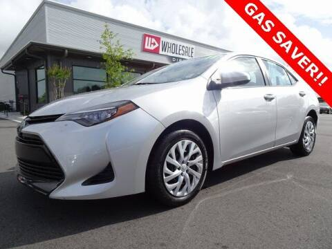 2017 Toyota Corolla for sale at Wholesale Direct in Wilmington NC