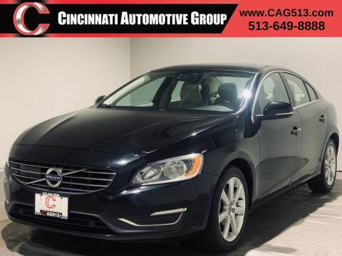 2016 Volvo S60 for sale at Cincinnati Automotive Group in Lebanon OH