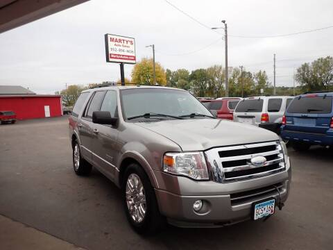 2008 Ford Expedition for sale at Marty's Auto Sales in Savage MN