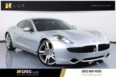 2012 Fisker Karma for sale at HGREG LUX EXCLUSIVE MOTORCARS in Pompano Beach FL