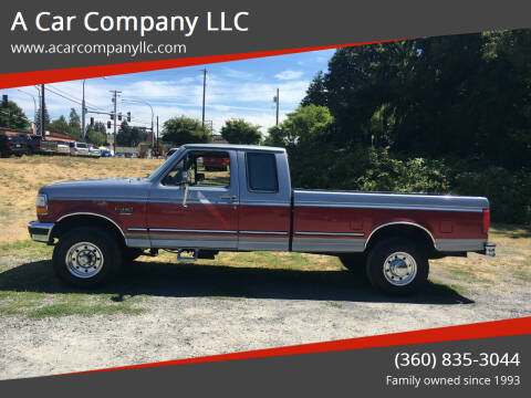 1997 Ford F-250 for sale at A Car Company LLC in Washougal WA
