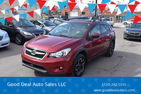 2013 Subaru XV Crosstrek for sale at Good Deal Auto Sales LLC in Denver CO