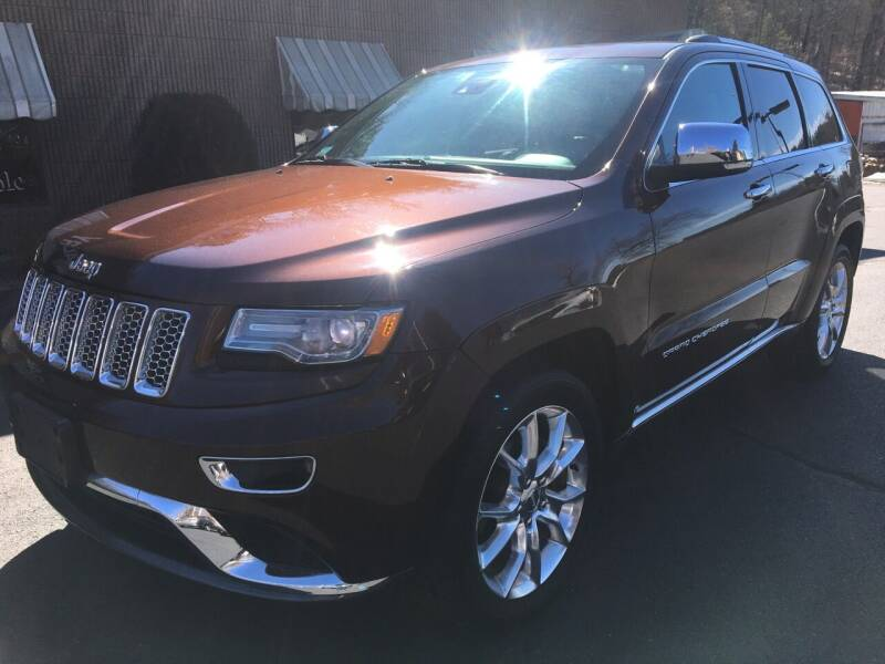 2014 Jeep Grand Cherokee for sale at Depot Auto Sales Inc in Palmer MA