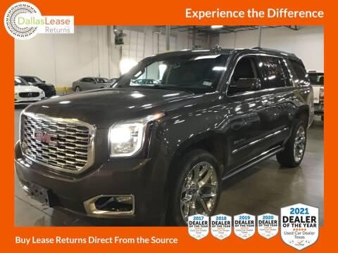 2019 GMC Yukon for sale at Dallas Auto Finance in Dallas TX