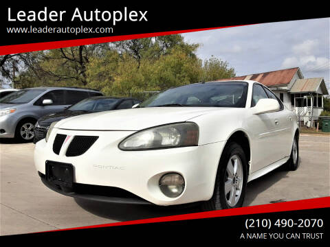 2005 Pontiac Grand Prix for sale at Leader Autoplex in San Antonio TX