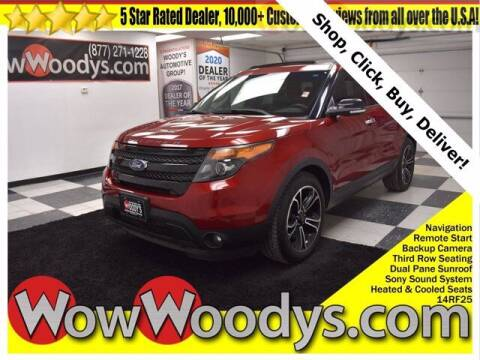 2014 Ford Explorer for sale at WOODY'S AUTOMOTIVE GROUP in Chillicothe MO