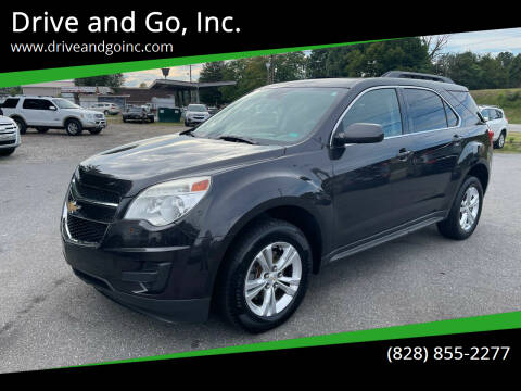 2015 Chevrolet Equinox for sale at Drive and Go, Inc. in Hickory NC